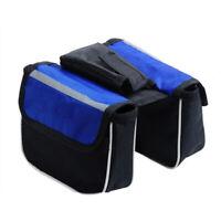 Bicycle Saddle Tube Bag Bike Top Frame Front Pannier Cycling Kit Waterproof