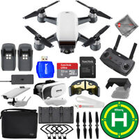 DJI Spark Fly More Combo (Alpine White)!! EXTREME ACCESSORY BUNDLE - Brand New!