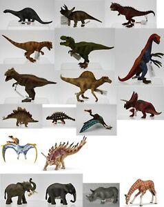 #02 Schleich Tiere-Dinosaurier-Figuren-teilweise selten-neu-Aussuchen