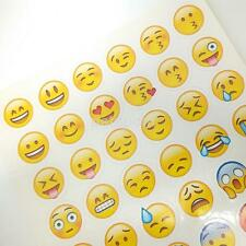 48 Emoji Stickers Smile Face Sticker For Notebook Message Classical Kids DIY CA