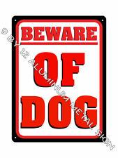Beware of Dog Metal Sign 907