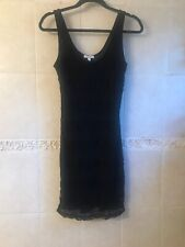 dELiA*s Tank Black Lace Dress - Size M