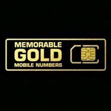 EASY MEMORABLE MOBILE PHONE NUMBER VIP BUSINESS GOLD DIAMOND PLATINUM SIM CARD