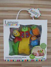 Lamaze Handgelenkrassel und Füßefinder Geschenk Set Babyspielzeug Socken Rassel