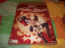 Fallout 4 Nuka World + Map Double Sided Gamestop Preorder Promo Display Poster