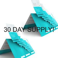 Riversol 30 Day Sample Kit Cleanser Moisturizer Reparative Serum Anti Aging Lot