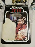 Rare VINTAGE STAR WARS 1983 CHIEF CHIRPA PALITOY CARDBACK ONLY  65 BACK
