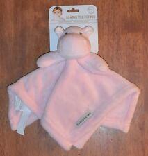 New Plush Pink Hippo Security Blanket Blankets & Beyond Lovey Nunu NWT