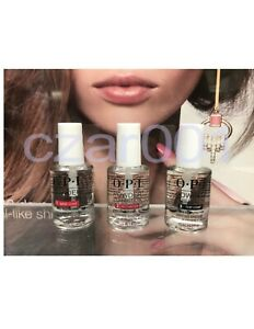 OPI Powder Perfection Dipping Liquid System 3 Steps 0.5 oz  AUTHENTIC- U PICK
