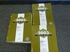2003 Chevy 2500 Express Van Shop Service Repair Manual Set LS Extended 6.0L V8