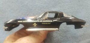Carrera 1/32 slot car body Corvette Stingray