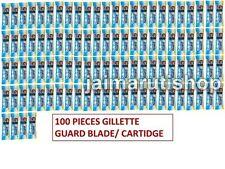 100 piece Gillette Guard Razor blade cartidge gilette gilete safety blade
