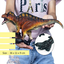 Acrocanthosaurus Figure Dinosaur Animal Realistic Model Collector Decor Kid Toy