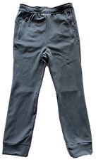 New listing Nike Big Kids Tech Fleece Joggers Gray Sz-L Spell out Waistband Zip Pockets New