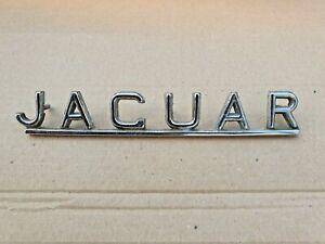 Vintage E type Jaguar badge Original J Fray XKE Superb Condition