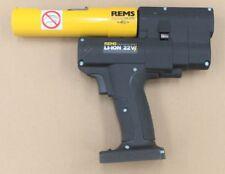 REMS AX PRESS 25 22v ACC n. 573020 BATTERIA assiale stampa pressione bossoli quetschhülsen