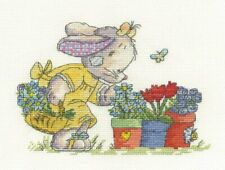 DMC Somebunny Collecting Flowers Counted Cross Stitch Kit BL587