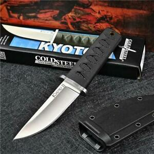 Cold Steel Knife Little Samurai Fixed Blade Camping Tactical Straight Knives AU
