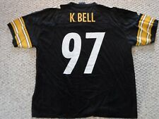 PITTSBURGH STEELERS VINTAGE JERSEY KENDRELL BELL ADIDAS  SIZE XXL JERSEY