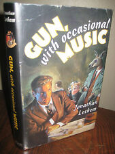 Gun With Occasional Music Jonathan Lethem SIGNED 1st Edition 2nd Printing Novel