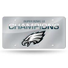 Philadelphia Eagles Super Bowl 2018 Champions Laser Cut Mirror License Plate NEW