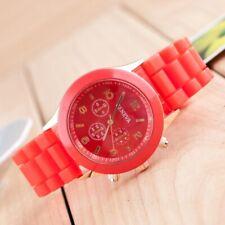 Fashion Women Men Wrist Watch Silicone Jelly Quartz Analog Sports Watch Colorful