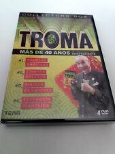"""DVD """"TROMA COLLECTORS BOX"""" 4DVD ABUELAS RABIOSAS ZOMBIES PALETOS SUCKER EL VAMPI"""