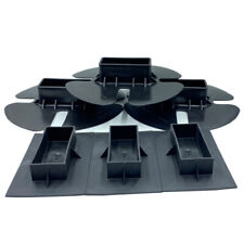 6 Pack Of 3 End Caps And 3 Bottom Caps For Shrink Wrap Installation Support Pole