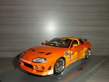 1:18 ERTL AMERICAN MUSCLE SPINNERS 1995 TOYOTA SUPRA  1 OF 5000