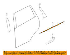 MITSUBISHI OEM Outlander Rear-Window Sweep Belt Felt Molding Right 5757A004