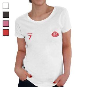 Sunderland A.F.C - Personalised Ladies T-Shirt (SPORTS)