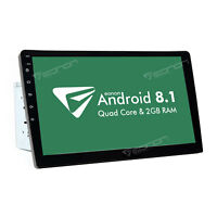 """10.1"""" Android 8.1 Oreo Double 2Din InDash Car GPS Navigation Stereo Radio OBD2 B"""