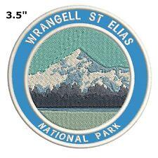 St. Elias National Park Embroidered Patch Iron-On Souvenir Travel Explore Nature
