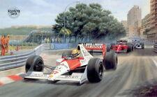 Tony Smith AYRTON SENNA DA SILVA Formula 1 Motor Racing Cars F1