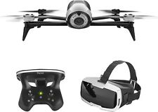 Parrot Bebop Drone 2 White Quadcopter with Skycontroller 2 & Cockpit FPV Glasses