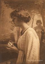 """Frank Eugene photo """"Miss Gladys Lawrence""""  1900s"""