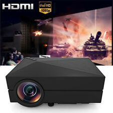 LED Video Beam Projector Multimedia Home Theater Mini Movie Proyector for Home