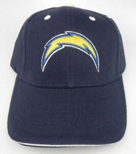 LOS ANGELES CHARGERS NFL FOOTBALL NAVY REEBOK REPLICA ADJUSTABLE CAP HAT NEW!
