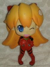 "5""2009 Banpresto Evangelion Deformed Mania Collection Asuka Figure No Stand"