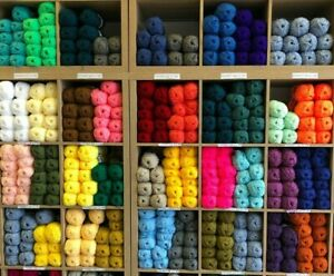 CYGNET DK Wool Yarn Acrylic Knitting Double Knit 100g All Colours High Quality
