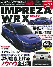 Hyper REV Vol.213 Subaru Impreza WRX No.12 Tuning Dress Up Japanese Car Magazine