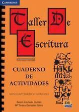 Taller de escritura: Cuaderno de actividades (Spanish Edition)-ExLibrary