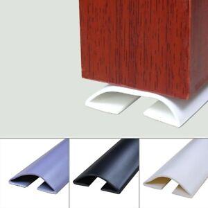 Door Bottom Guard Seal Strip Draft Stopper Protect Under-Door Draught Excluder