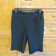 Women's Tail white label modern fit black golf shorts size 2 new NWT $70