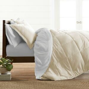 Home Collection Ultra Soft Down Alternative Reversible Comforter Set - 7 Colors