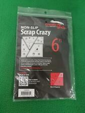 Creative Grids Scrap Crazy 6 Templates Quilt Ruler # CGRMT6
