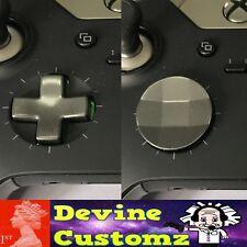 Devine Customz Gris oscuro Plata Xbox Elite controlador Dpad Pad D One