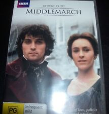 Middlemarch (George Elliot) (Australia Region 4) BBC DVD – New