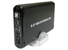"USB 2.0 / eSATA to SATA 3.5"" HDD External Enclosure Hard Drive DATA Storeage 809"