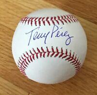 Tony Perez Cincinnati Reds Expos Red Sox HOFer Signed Autograph MLB Baseball